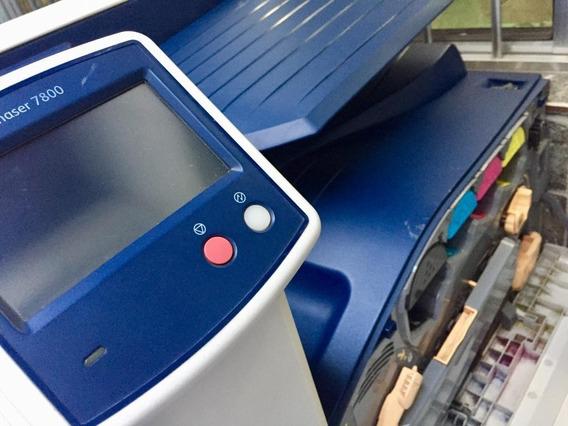 Impressora Xerox Phaser 7800dn A3 Color - Contador 2.320