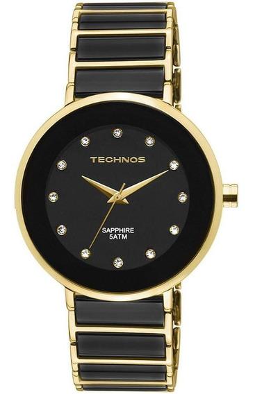 Relógio Technos Feminino Elegance Sapphire 2035lmm