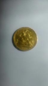 Moeda De Ouro Da Rainha Elizabeth Ano De 1966