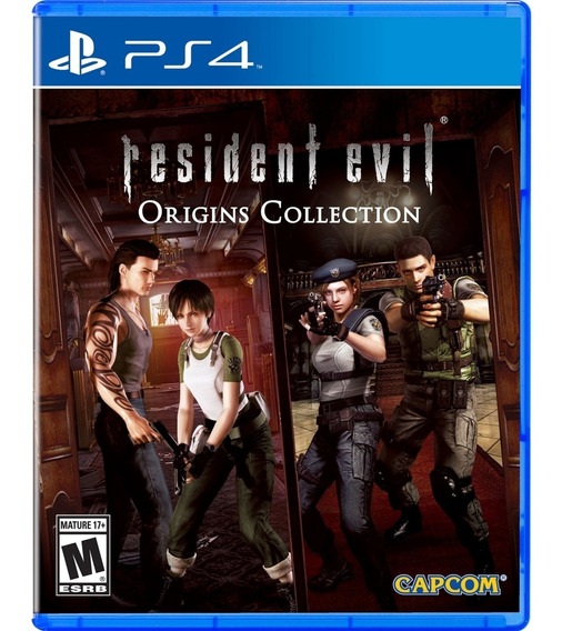Resident Evil Origins: Collection - Ps4 Lacrado