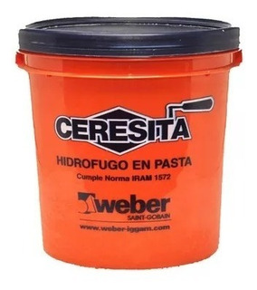 Ceresita 10kg Weber Hidrofugo Placas San Justo
