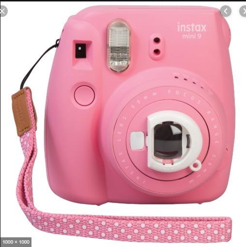Camera Instax Mini 9 (rosa)