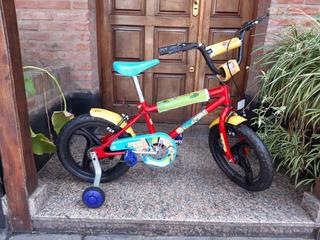Bicicleta Infantil Nueva Rodado 16
