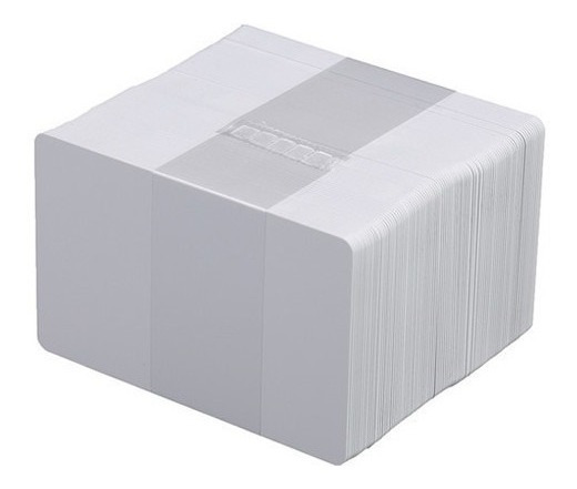 Tarjetas Blanca Pvc Cr80 Datacard Evolis Fargo Zebra 0.30