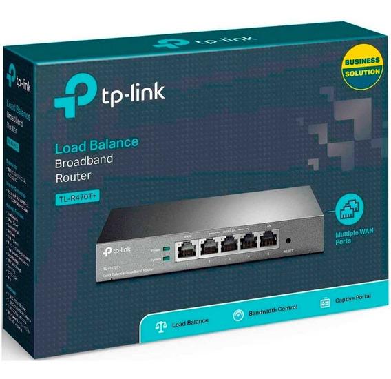 Router Tp-link Balanceador De Carga Tl-r470t+ Ptos Wan Lan