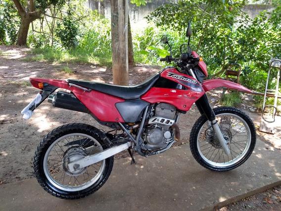 Moto Honda Xr Tornado 250 Vermelha