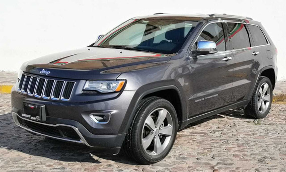 Jeep Grand Cherokee Limited Lujo V6 4x2 At