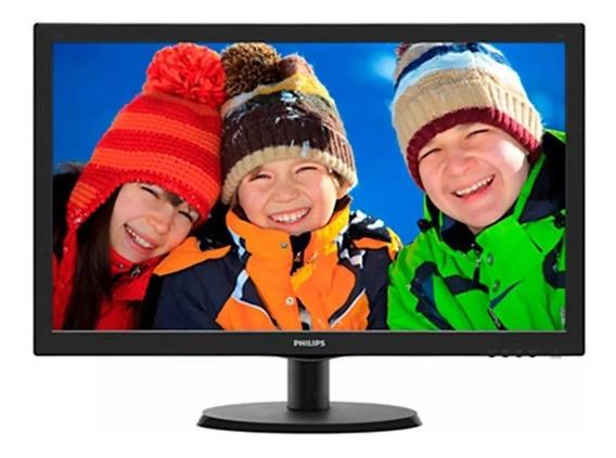 Monitor 21,5 Led Full Hd 223v5lhsb2 Vga Hdmi - Philips