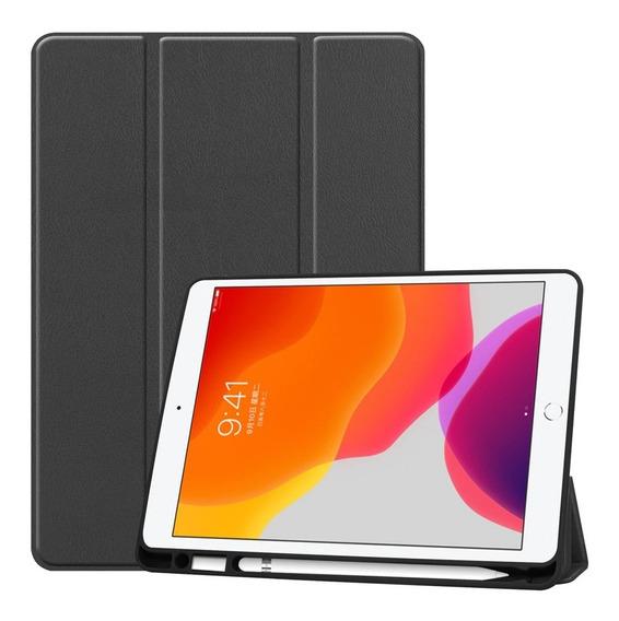 Capa Smart Case iPad 7ª 10.2 A2197/a2198 Suporte Para Caneta
