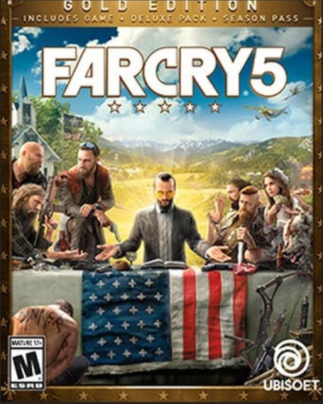 Far Cry 5 Gold Edition -uplay -online
