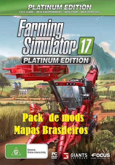 Farming Simulator 17 Platinum Edition Pc + Mods