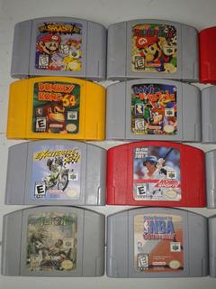 Mario Party Smahs Bros Dkey Kong Perfedark Rocket Robot N64