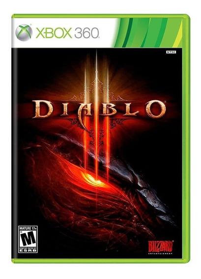 Jogo Novo Lacrado Da Blizzard Diablo 3 Para Xbox 360 Ntsc