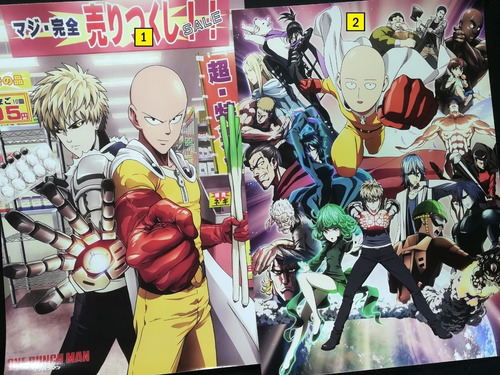 Posters A3 29x42cm Anime One Punch Man #1 / Niponmania