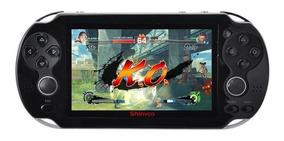 Vídeo Game Portátil Arcade Roda Jogos Nes Nintendo Sega Gba