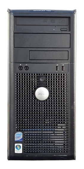 Cpu Dell Torre Core 2 Duo 1.6ghz 2gb Ddr2 Hd 500gb Dvd