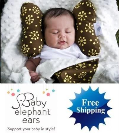 Cojin Protector Cuello Bebe (baby Elefhant Ear)