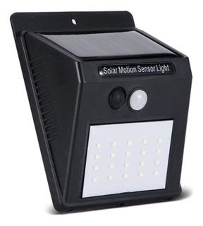 Lámpara Solar 42leds Exterior Sensor Impermeable