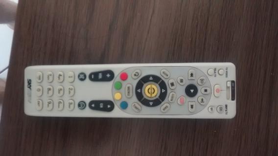 Controle Skype Hdtv + Lnbf-sdu Antena Sky Hdtv