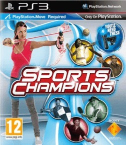 Jogo Sports Champions Playstation 3 Ps3 Ps Move Mídia Física