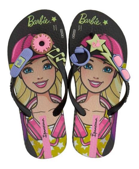 Chinelo Barbie Profissões Infantil 26016 Ipanema