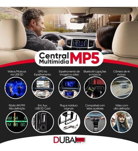 Central Multimídia Mp5 Ford Focus Camera Moldura Original