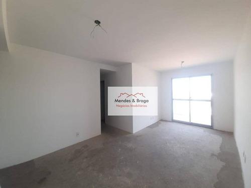 Imagem 1 de 21 de Apartamento À Venda, 76 M² Por R$ 400.000,00 - Vila Galvão - Guarulhos/sp - Ap2157