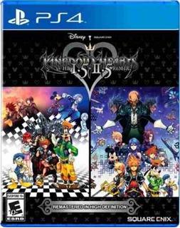 Juego Ps4 Kingdom Hearts Hd 1.5 + 2.5 Remix