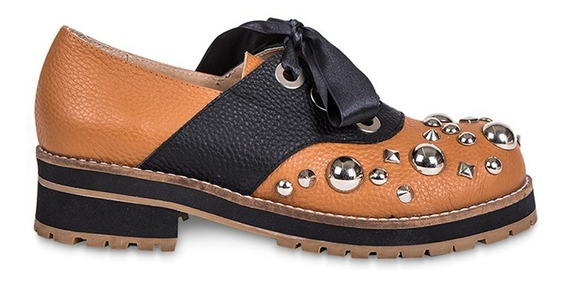 Zapatos Mujer - Abotinado Lirio - Cuero - Florte