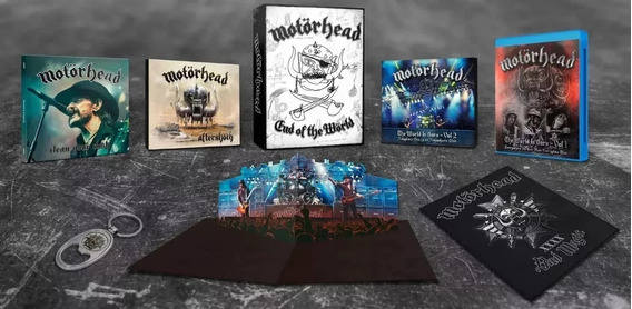 Motorhead -end Of The World -limited Edition Box Set-lacrado