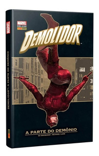 Hq Marvel Deluxe Demolidor A Parte Do Demonio Panini Books