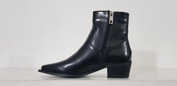 Bota Reese Negro Prune Zapato Mujer