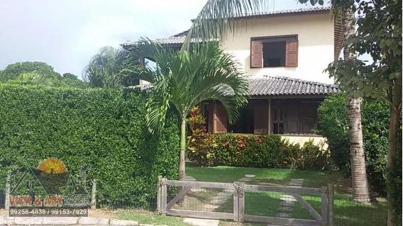 Casa Em Condomínio Para Venda Em Lauro De Freitas, Vilas Do Atlântico, 1 Dormitório, 3 Suítes, 5 Banheiros, 2 Vagas - Vs169_2-696558