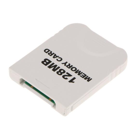 128mb (2048 Blocks ) Cartão Memória Branco Para Nintendo G
