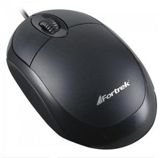 Mouse Padrao Universal Usb 800 Dpi Oml-101 Preto Fortrek