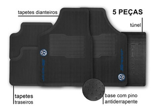 Tapete Para Carro Volkswagen Sport Jogo 5 Peças