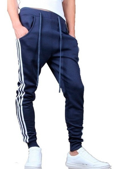 Pants Jogger Baggy Entubado Gym Slim Fit Moda