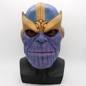 Máscara Thanos Vingadores Cosplay Latex Guerra Do Infinito