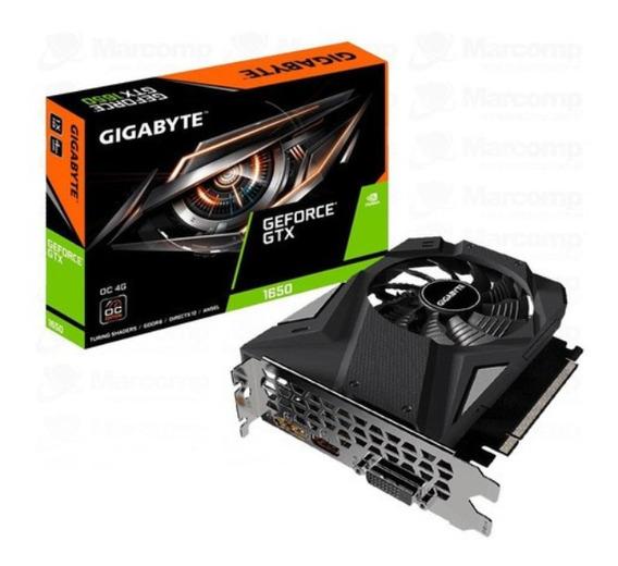 Placa De Video Gigabyte Gtx 1650 Oc 4g Gv-n1656oc-4gd Nvidia