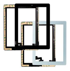 Tela Vidro Touch iPad 2 + Home + Adesivo A1395 A1396 A1397
