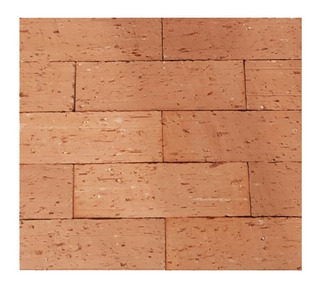 Revestimento Plaqueta Tijolo Natural Vermelha Bricks 1,11m2