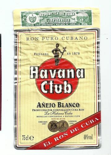 Lote 10 Rótulos Antigos Estrangeiros  - Cuba  E -  Ab2