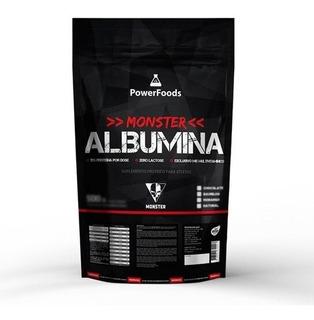 Monster Albumina - 500g - Powerfoods