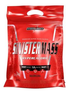 Sinister Mass Hipercalórico 3kg - Integralmédica
