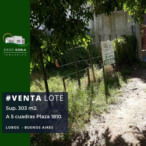#venta Lote Céntrico - Lobos - Ideal Emprendimiento
