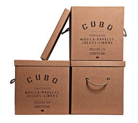 Caja Organizadora De Espacio Cubo 30x30x30cm