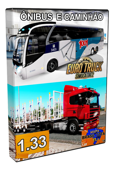 Euro Truck Simulator 2 Brasil Mods Ônibus E Caminhão