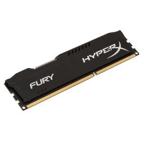 Memória 4gb 1600mhz Ddr3 Kingston Hyperx Fury Preto Pc312800