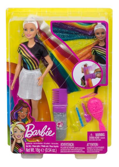 Barbie Fashionista, Peinados De Arcoíris