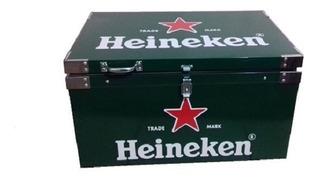 Caixa Térmica Heineken 50 Litros Aço Galvanizado